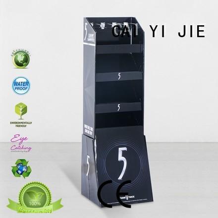 printing hook counter hook display stand supermarket cardboard CAI YI JIE Brand