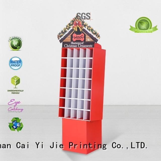 CAI YI JIE point of sale display layers for cosmetics
