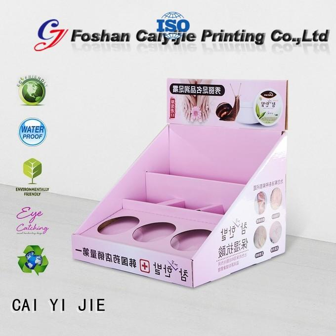 CAI YI JIE cardboard display boxes factory price for stores