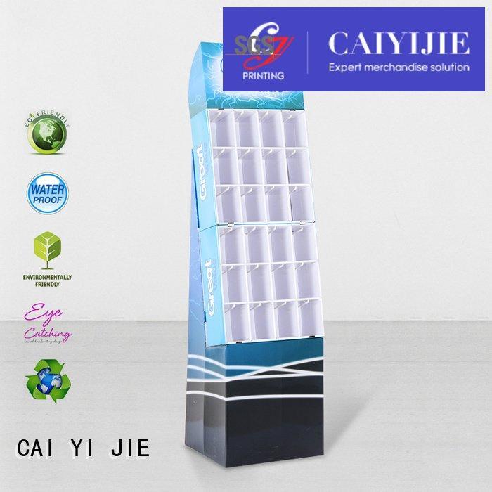 marketing step supermarket counter hook display stand CAI YI JIE