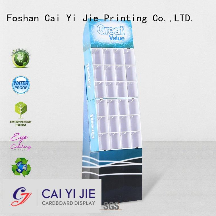 Custom hook display stand marketing supermarket step CAI YI JIE