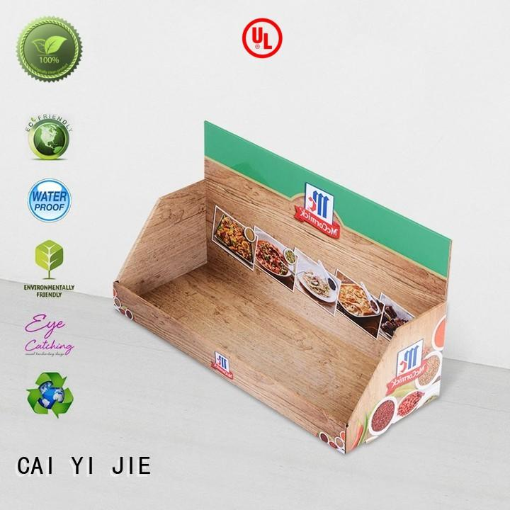 CAI YI JIE grocery display packaging boxes factory price for supermarkets