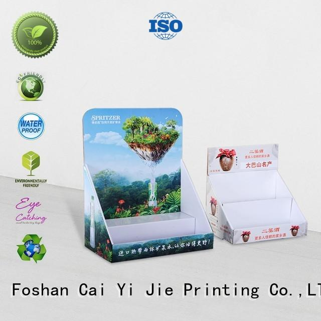 promotional cardboard countertop displays hot-sale for marketing