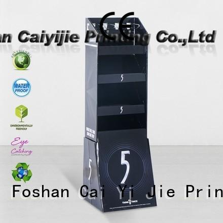 custom free standing display units cardboard cardboard display for perfume