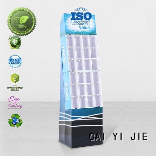 CAI YI JIE hook display stand hook stair step color