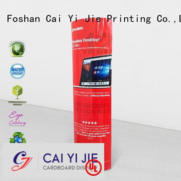 cardboard advertising lama lama display CAI YI JIE