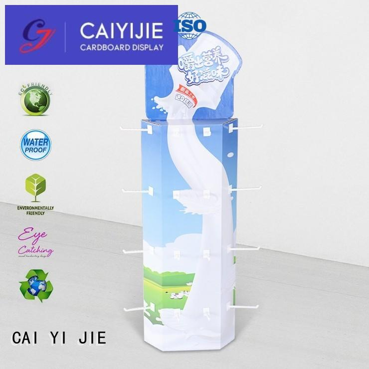 CAI YI JIE Brand hooks display power wing display manufacture