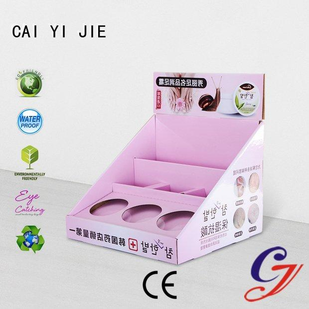 sale products boxes printed CAI YI JIE cardboard display boxes
