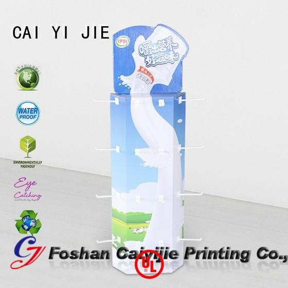 CAI YI JIE high-end sidekick display for marketing