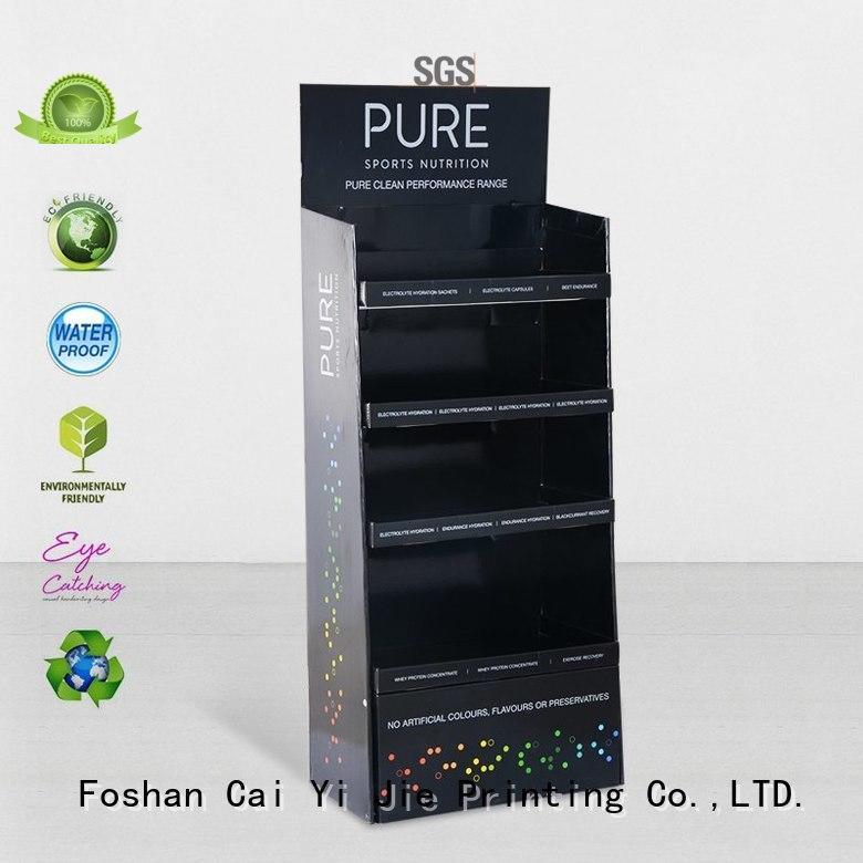CAI YI JIE dumpbin point of sale display shelve
