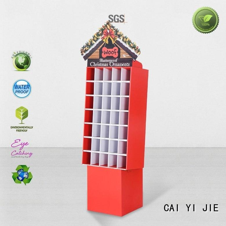 cardboard cardboard display units retailing for cosmetics CAI YI JIE