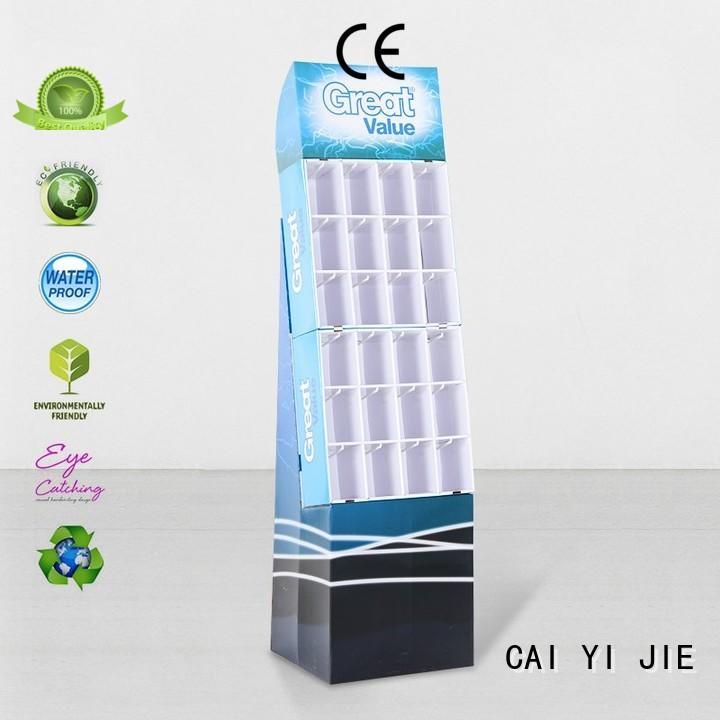 printing hook display stand manufacturer for supermarket