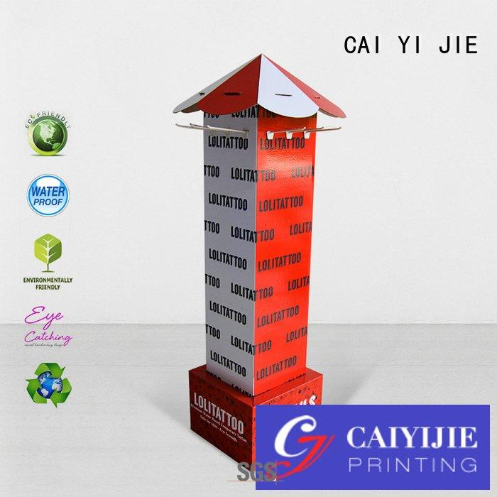 full step counter hook display stand CAI YI JIE