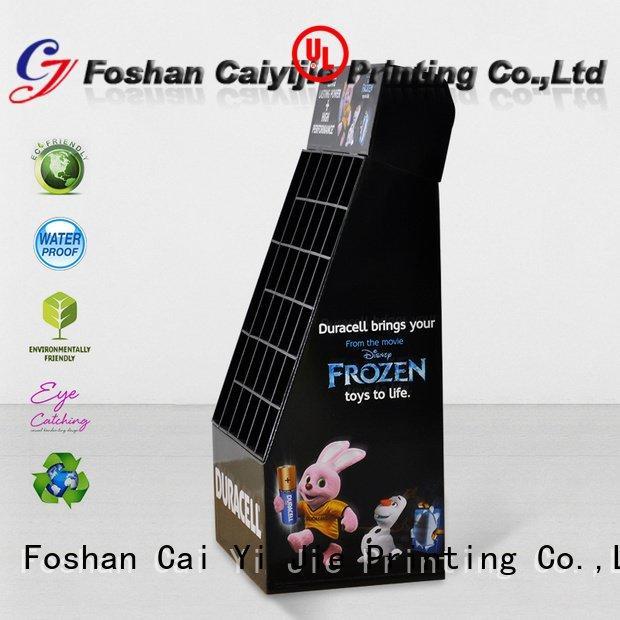 Custom cardboard stand cardboard stiand products CAI YI JIE