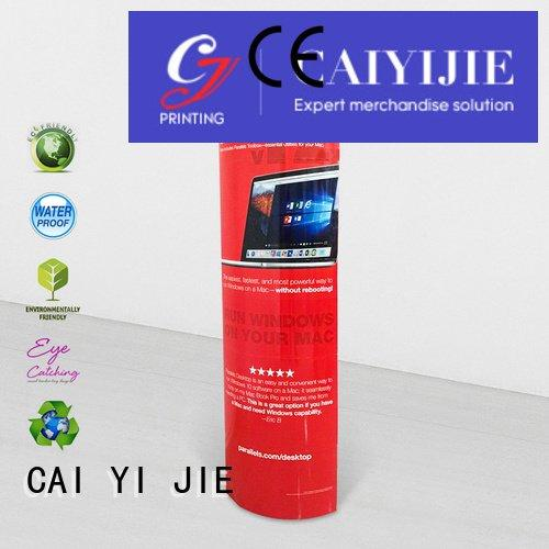 stands advertising cardboard lama display CAI YI JIE