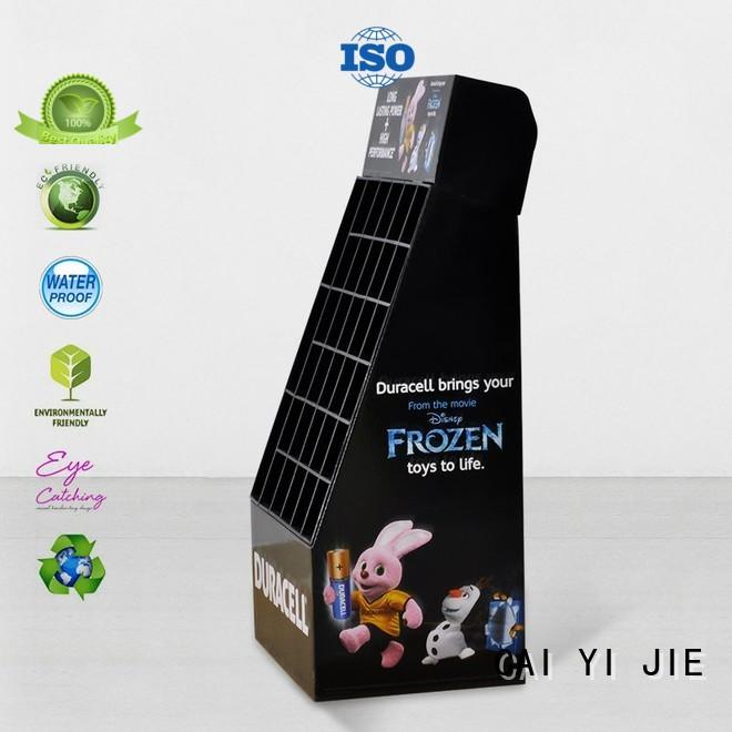 CAI YI JIE multifunctional cardboard pop displays point fordrink
