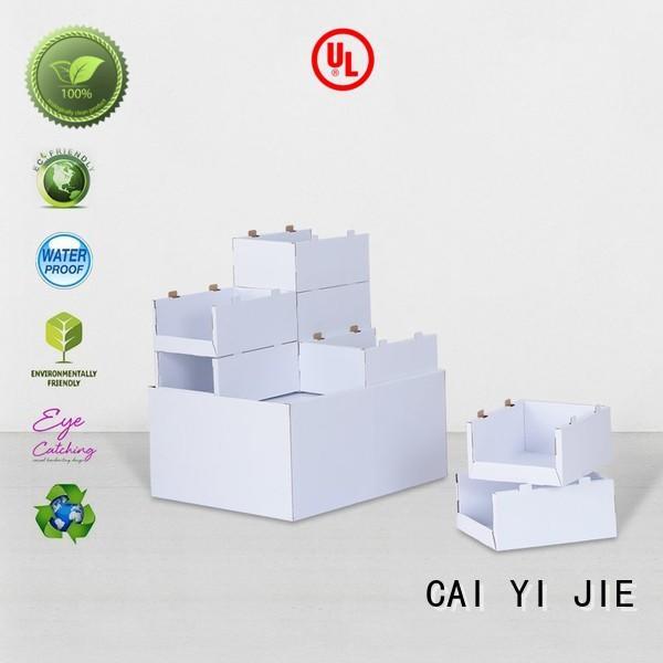 carton cardboard display rack woolworths for chain store CAI YI JIE