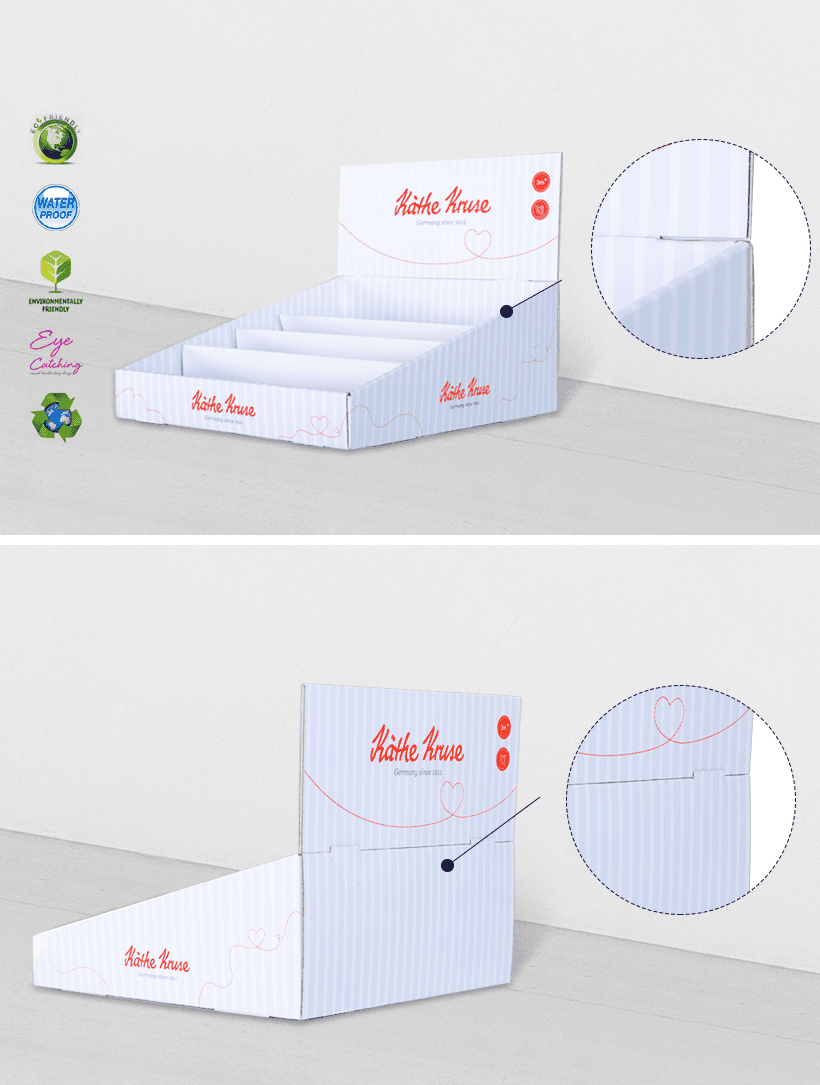 CAI YI JIE printed cardboard retail display boxes cardboard factory price for units chain-2