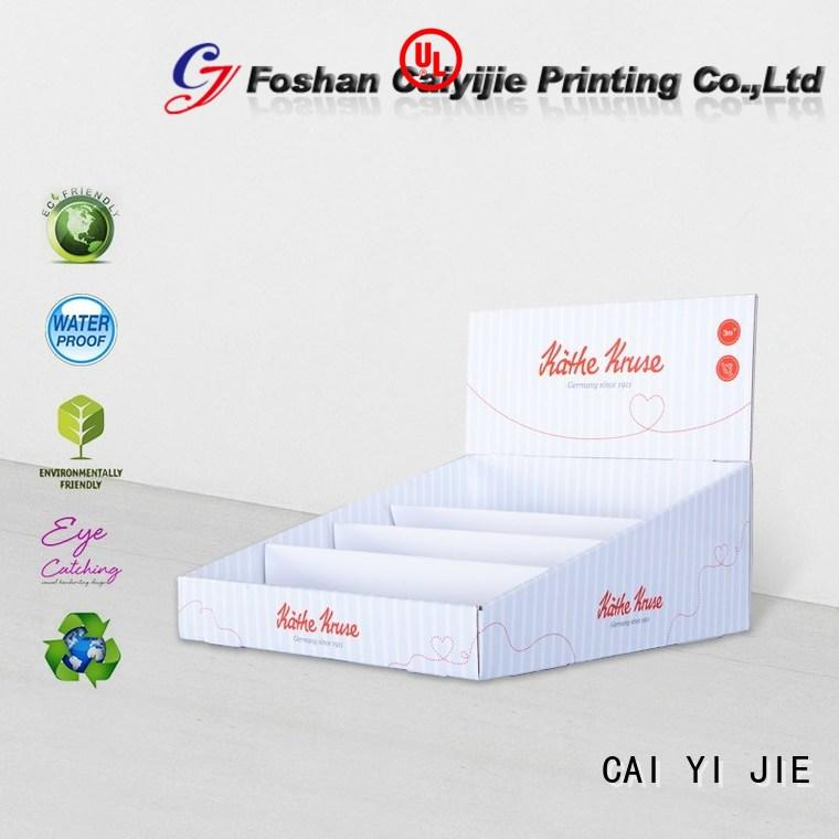 CAI YI JIE grocery cardboard countertop displays factory price for stores