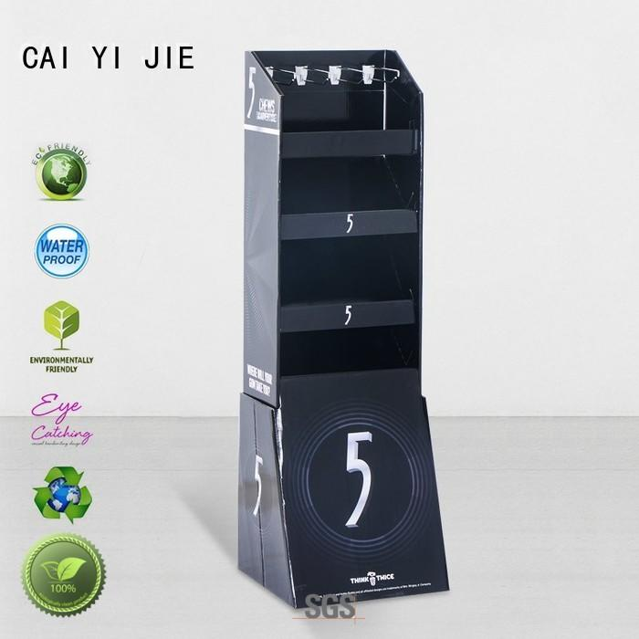 hook printing hook display stand full color CAI YI JIE company