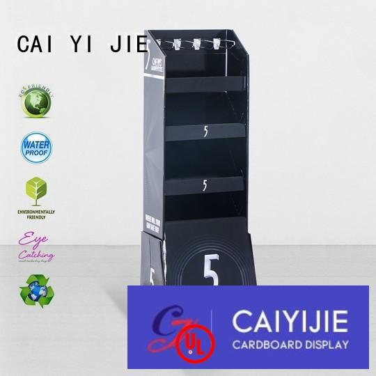 counter hook display stand supermarket hook display stand CAI YI JIE Brand