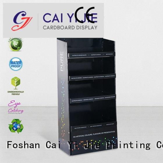 clip color stand plastic CAI YI JIE cardboard stand