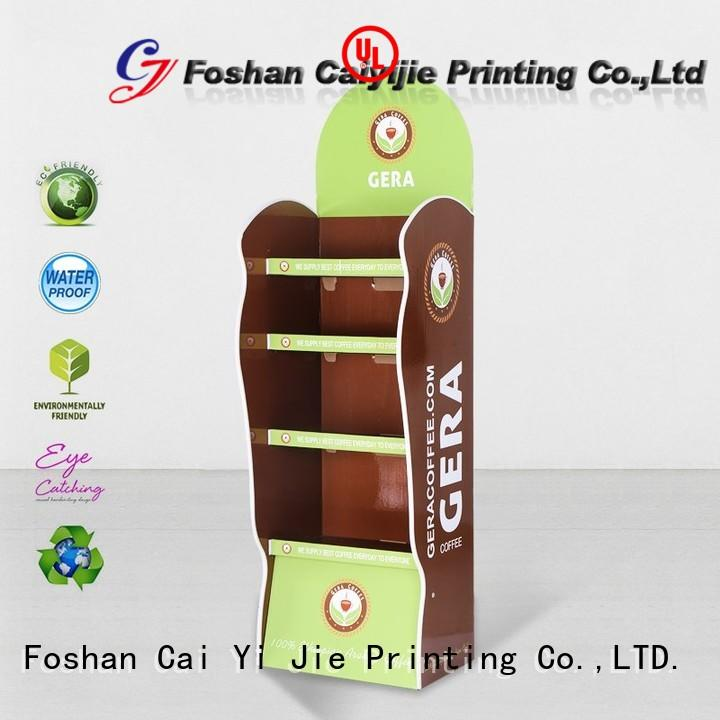 corrugated cardboard pop displays product for store