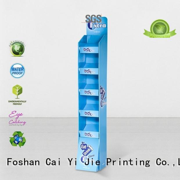 super custom display chip for cosmetics CAI YI JIE
