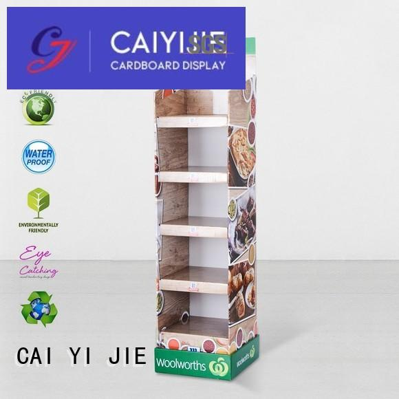 CAI YI JIE Brand display stiand stainless cardboard stand manufacture