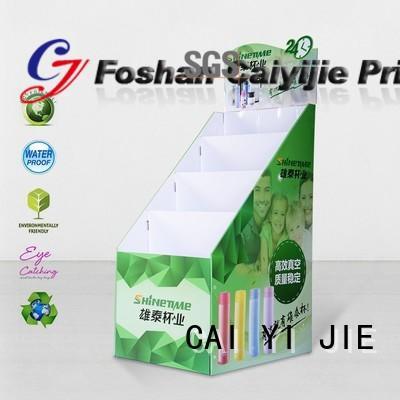 cardboard pop displays modeling for kitchen supplies CAI YI JIE
