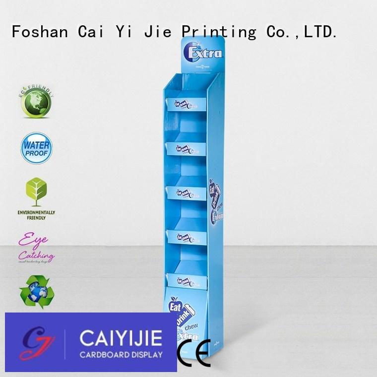 CAI YI JIE Brand fashion space chain cardboard stand