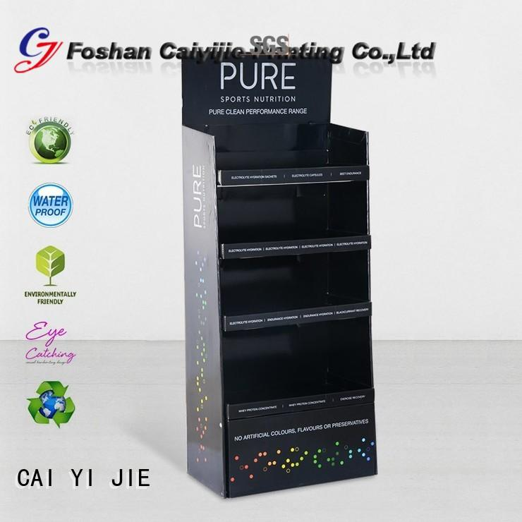 CAI YI JIE cardboard pop up displays stands for store