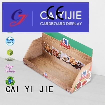 black cardboard display boxes displays for stores CAI YI JIE