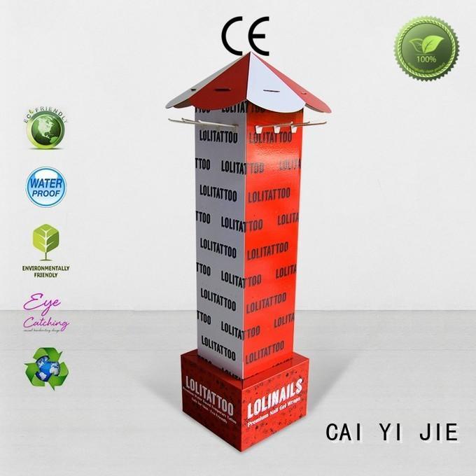 supermarket hook CAI YI JIE Brand hook display stand