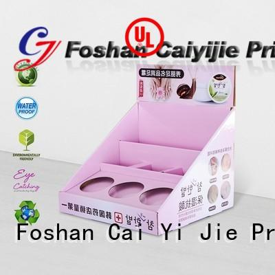 promotional display packaging boxes stands boxes for units chain