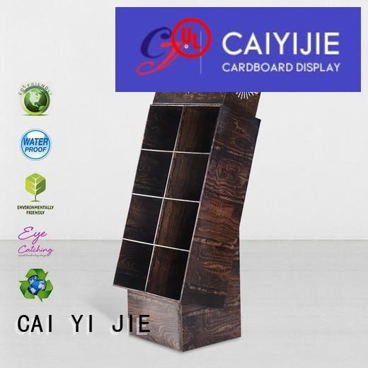 cardboard card display retail for foods CAI YI JIE