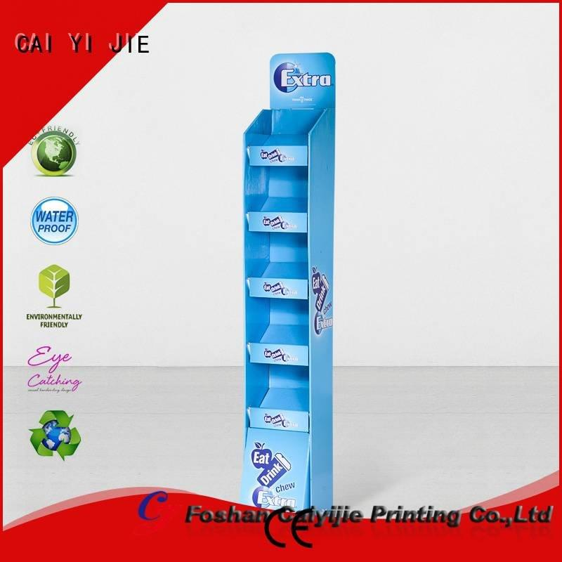Quality Assurance Surface treatment Other products Material CAI YI JIE cardboard greeting card display stand
