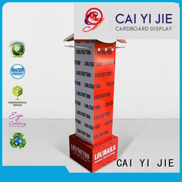 counter hook display stand Supply ability hook display stand CAI YI JIE Brand