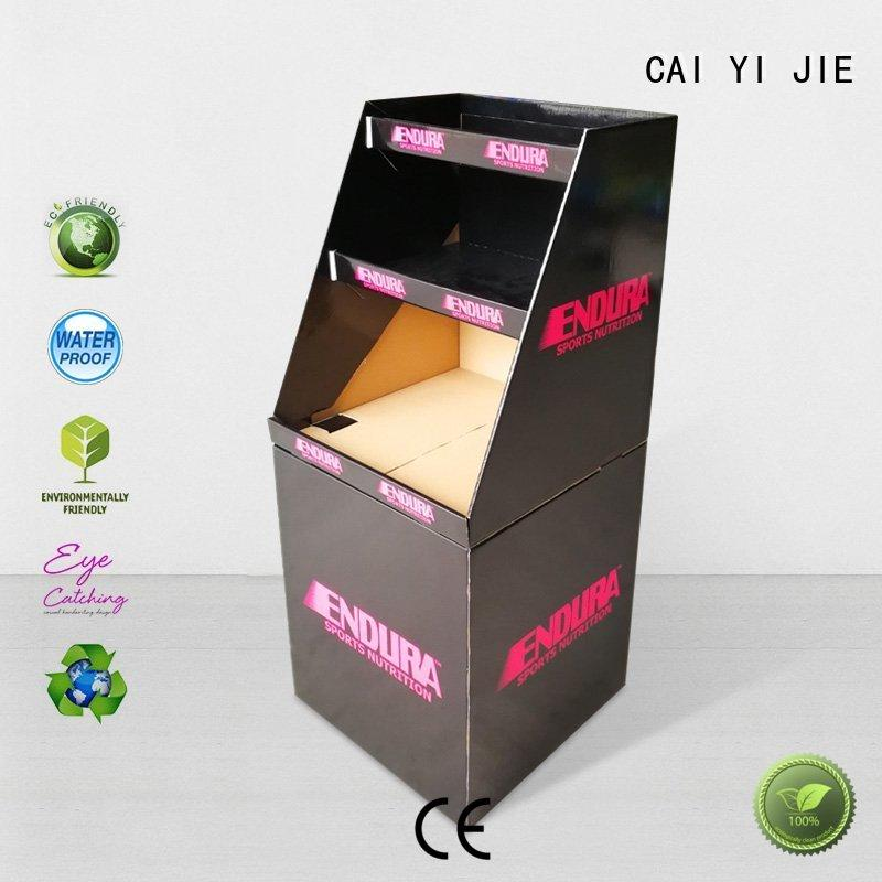CAI YI JIE cardboard bins for sale dumpbin for commodities