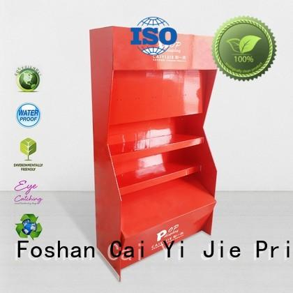 CAI YI JIE cardboard retail display stands for beer
