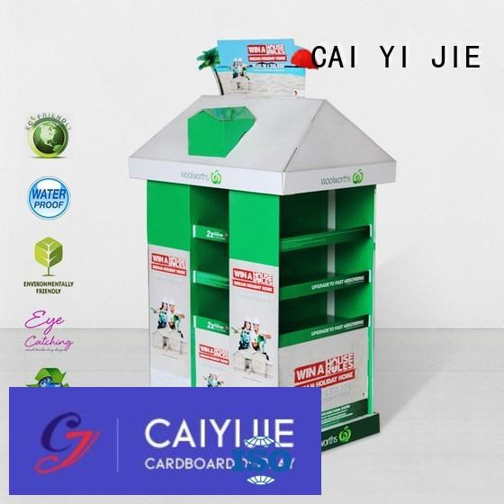 corrugated cardboard pallets clip for shop CAI YI JIE
