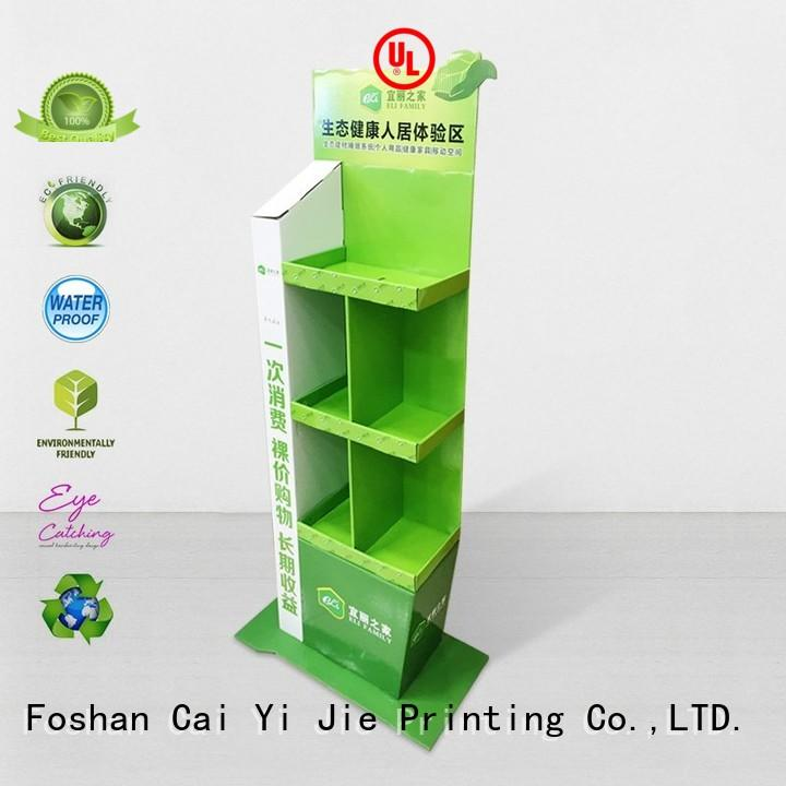 CAI YI JIE multifunctional point of purchase displays printing fordrink