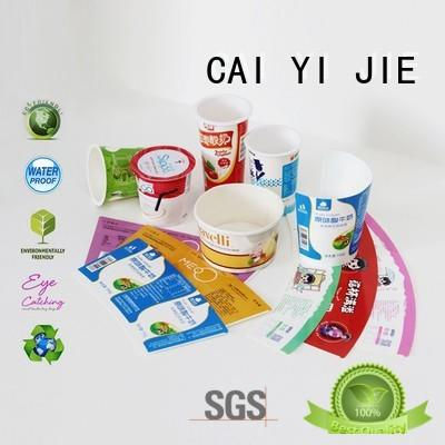 CAI YI JIE printed cardboard boxes universal for retail
