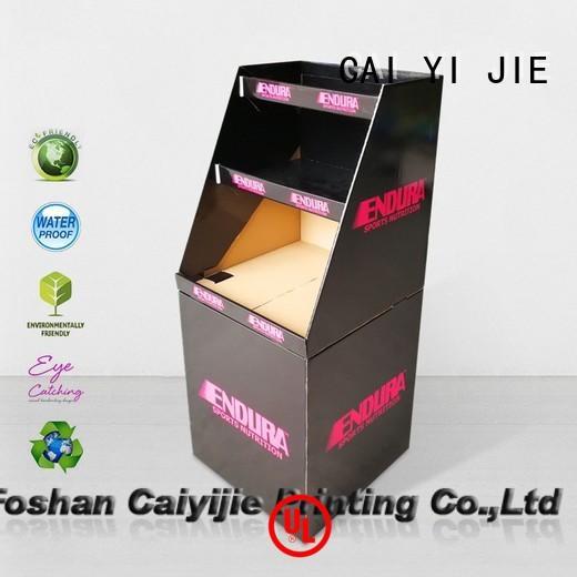 CAI YI JIE sale cardboard bin boxes dumpbin cardboard