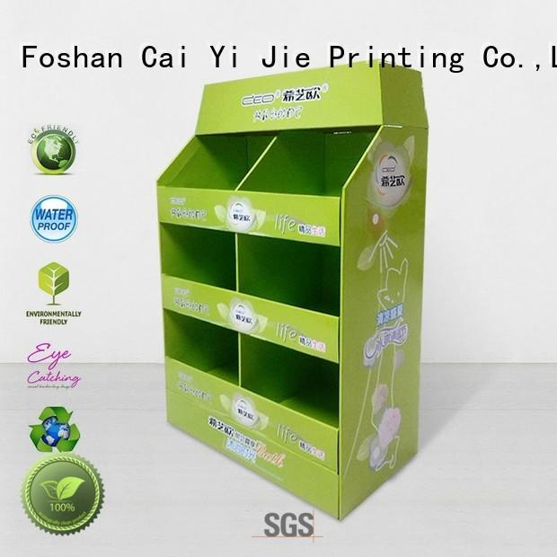 CAI YI JIE pallet display for stores