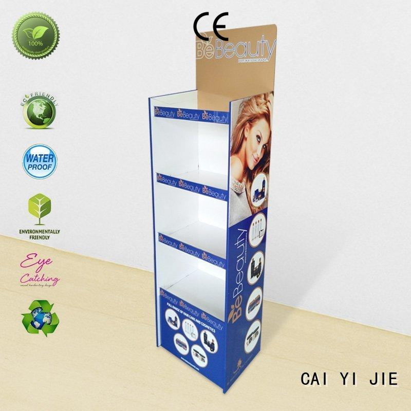 CAI YI JIE super cardboard display items for foods