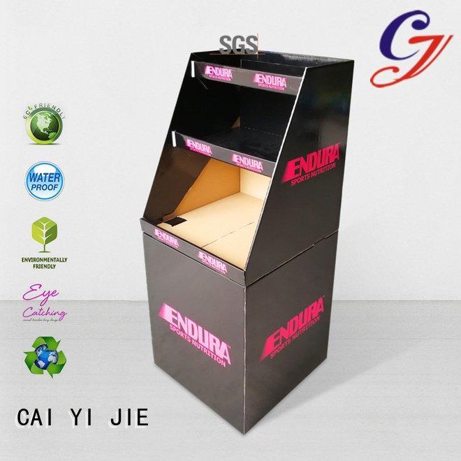 cardboard dump bins for retail floor bin header cheese