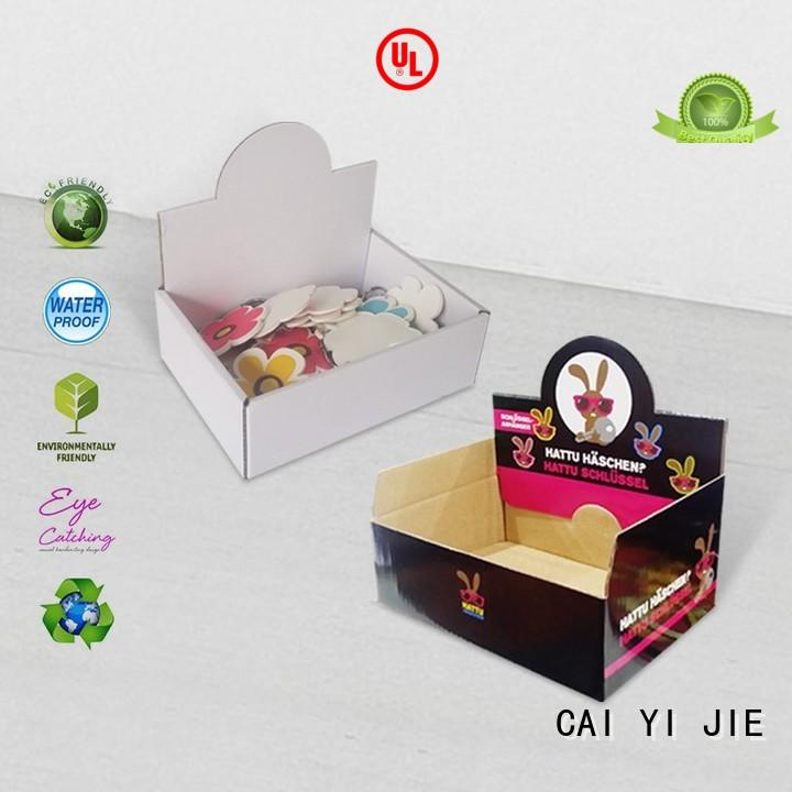 grocery cardboard display boxes stands boxes