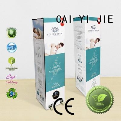 CAI YI JIE large cardboard packaging for yogurt display