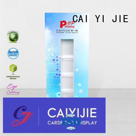 stands cardboard promotional lama display display CAI YI JIE